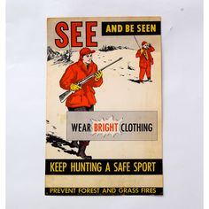 See and be Seen Poster