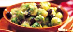 Brysselkål i senapsgrädde