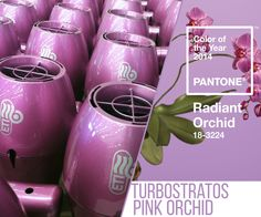 #Turbostratos #pink #orchid by @ETI_Italy 100% made in italy | fashion for your hair