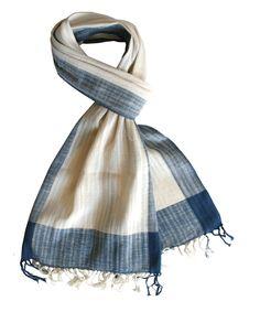 Organic Khadi Cotton Scarves