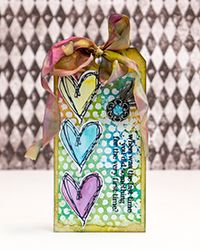 Love New Things Tag by Kathy Paglia