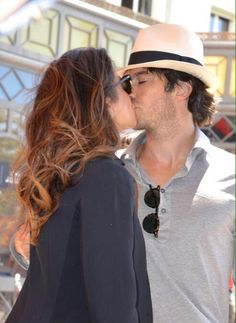 Passionate Kiss between Nikki and Ian Somerhalder at Cannes (05/20/15)