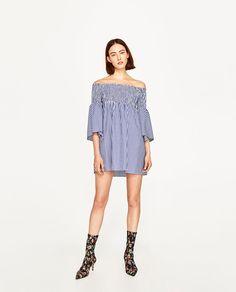 OFF-THE-SHOULDER DRESS-DRESSES-WOMAN | ZARA United States