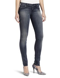 Level 99 Womens Liza Skinny Stretch Denim Fulton 25 ** See this great product. (This is an affiliate link) #LadiesJeans