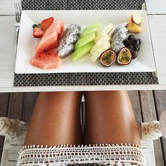 Fresh fruits on a great summertime...