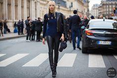 #New on #STYLEDUMONDE  http://www.styledumonde.com  with #soojoopark at #paris #fashionweek #pfw #hautecouture #black #chanel #outfit #ootd #streetstyle #streetfashion