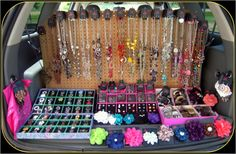 This is my summertime traveling boutique!  Check out Shari's Affordable Fab Glam by Paparazzi on facebook!