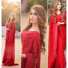 Red color Georgette bamber thread work saree with satin banglori blouse, saree for women, designer saree Red Saree, Saree Look, Bollywood Saree, Bollywood Fashion, Lehenga Saree, Pakistani Bridal Dresses, Pakistani Dress Design, Indian Dresses, Indian Outfits