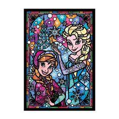 La reine des neiges (Frozen) - Puzzle vitrail Disney© - Cactus & Ananas