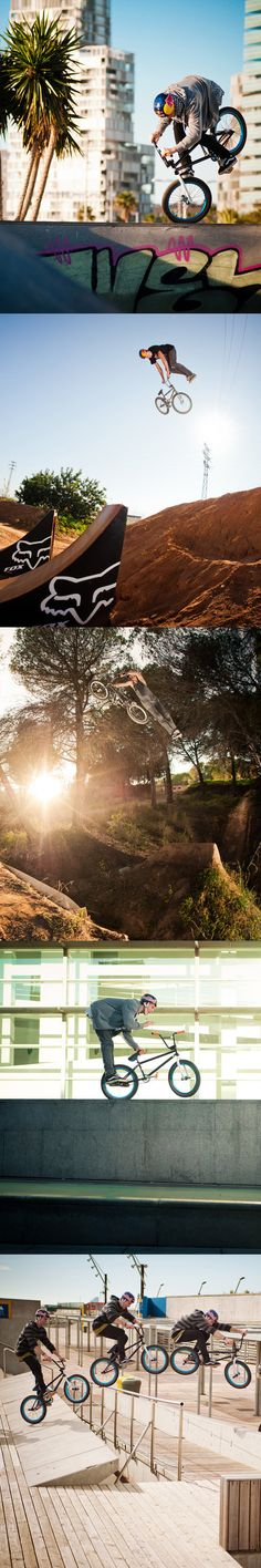I love bmx it's fun to watch I'm more of a skater though but I do it all