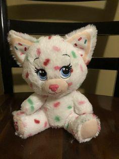 Build a Bear Buddies White Sprinkles Kitten Cat Kitty Plush Christmas Cookie #BuildaBear #Christmas Build A Bear Outfits, Friend Outfits, Stuffed Animals, Plushies, Christmas Cookies, Cats And Kittens, Sprinkles, Teddy Bear, Kitty
