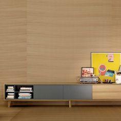 Composición modular TV N_1 de Treku. Muebles modernos. Muebles de salón