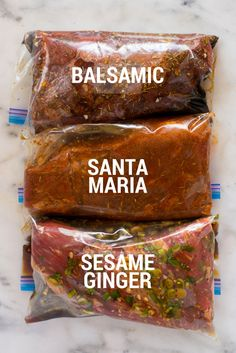 How to Marinate Tri Tip + 3 Tri Tip Marinade Recipes - Print Tri Tip Steak Recipes, Beef Tri Tip, Beef Recipes, Cooking Recipes, Tri Tip Rub, Cooking Hacks, Tri Tip Marinade, Balsamic Marinade, Gourmet