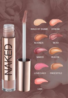 Naked Lip Glosses