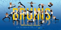 UCLA 2009 Gymnastics Posters, Photoshop, Movie Posters, Movies, Camping, Image, Women, Campsite, Film Poster