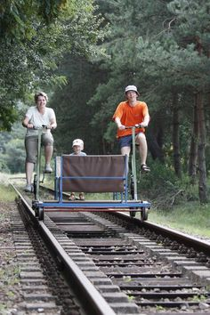 Ratíškovická železnice (šlapací drezíny) a Muzeum ve Vagónu, Ratíškovice - Východní Morava Czech Republic, Railroad Tracks, Camping, Trips, Travel, Viajes, Campsite, Traveling, Destinations