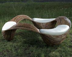 impresionante mobiliario de 3 asciento