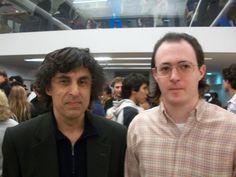 Nazareno (Der.) junto a Carlos García Palermo