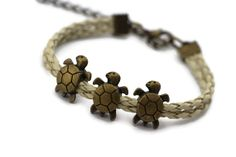 Turtles Bracelet, Personalized Bridesmaid Jewelry, Friendship Graduation Christmas Birthday Gifts, Trending Accessories on Etsy, $3.99