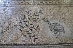 Mosaico de la iglesia de la Multiplicación en Tierra Santa. Art in the Multiplication´s Church.