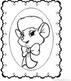 The Rescuers Down Under Coloring Page