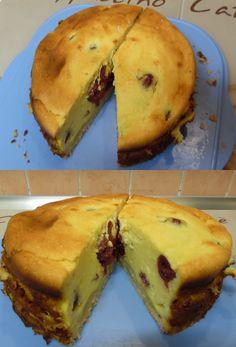 Mein erster kleiner Käsekuchen mit Kirschen in der neuen Pushpan von Lakeland. Bin sehr zufrieden mit dem Ergebnis :) http://www.lakeland.de/15772/Lakeland-PushPan-18%C2%A0cm