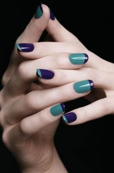 Tiffany and dark blue