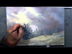 """Démo aquarelle """"Sérénité d'automne"""" (watercolor tutorial) - YouTube                                                                                                                                                                                 Plus"""