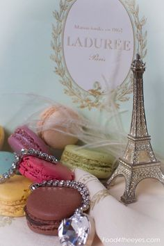Lovely macarons - I just ordered myself some of these as a 'made it through the school year' gift to myself. :D