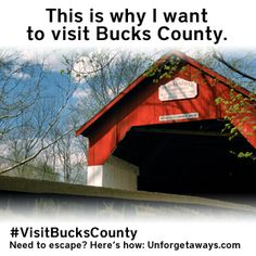 Use this photo to enter to win a Visit Bucks County UNFORGETAWAY. Get full entry details and rules at: http://www.Unforgetaways.com/    @Visit Bucks County