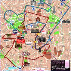 9 Best Milan map images | Milan map, Cartography, Drawings