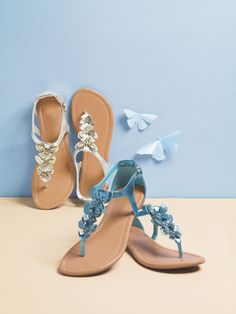 Get butterfly inspired with our Earthly Paradise Sandal