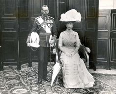 King George V and Queen Mary in 1919