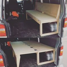 Campervan Bed Design Ideas 41