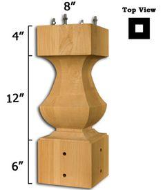 Elegant Transitional Table Pedestal X 2 Dinning Room Table