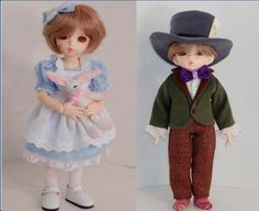 LTF Alice & Mad Hatter | by Sweet Creations Doll Fashions