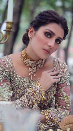 Nice Makeup, Ayeza Khan, Bangles, Bracelets, Best Makeup Products, Asian Beauty, Pakistani, Girls, Beautiful
