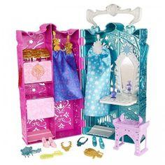 Disney Frozen Anna and Elsa's Royal Closet from Mattel