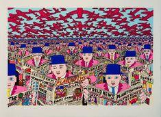 Hariton Pushwagner Graphic Novel Art, Art Inspo, New Art, Psychedelic, Novels, Museum, Quilts, Studio, Drawings