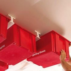Sliding Storage for Garage Ceiling
