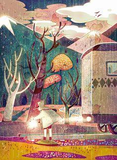 Mango lake by ~AnnaLisk on deviantART