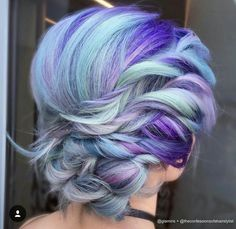 Purples and blues!