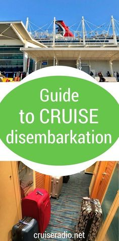 Disembarkation morning is by far the worst day of the cruise. This guide will make your cruise disembarkation process easier. Packing For A Cruise, Cruise Tips, Cruise Travel, Cruise Vacation, Vacation Trips, Disney Cruise, Packing Lists, Travel Packing, Honeymoon Cruises