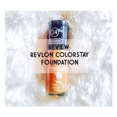 REVIEW: REVLON COLORSTAY FOUNDATION(COMBINATION/ OILY SKIN)