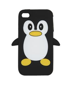 Rubber Penguin Phone Case - Tech Accessories from wet seal. I want it soooooo bad