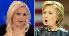Meghan McCain just LIT UP Hillary Clinton!
