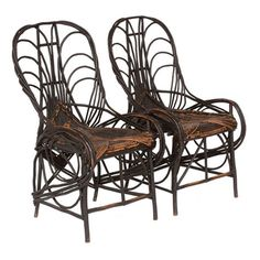 Twig Furniture History - I knew a lady in Idaho who made Grape Vine furniture.  I'll never forget you, Alois.