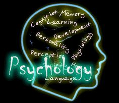 Psychology- My major and maybe future profession