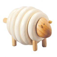Plan Toys - Mouton à enfiler 25€
