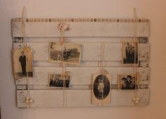 Deko-Objekte - Memoboard Shabby/Vintage Pinnwand Schneiderin - ein Designerstück von Pfaennle bei DaWanda